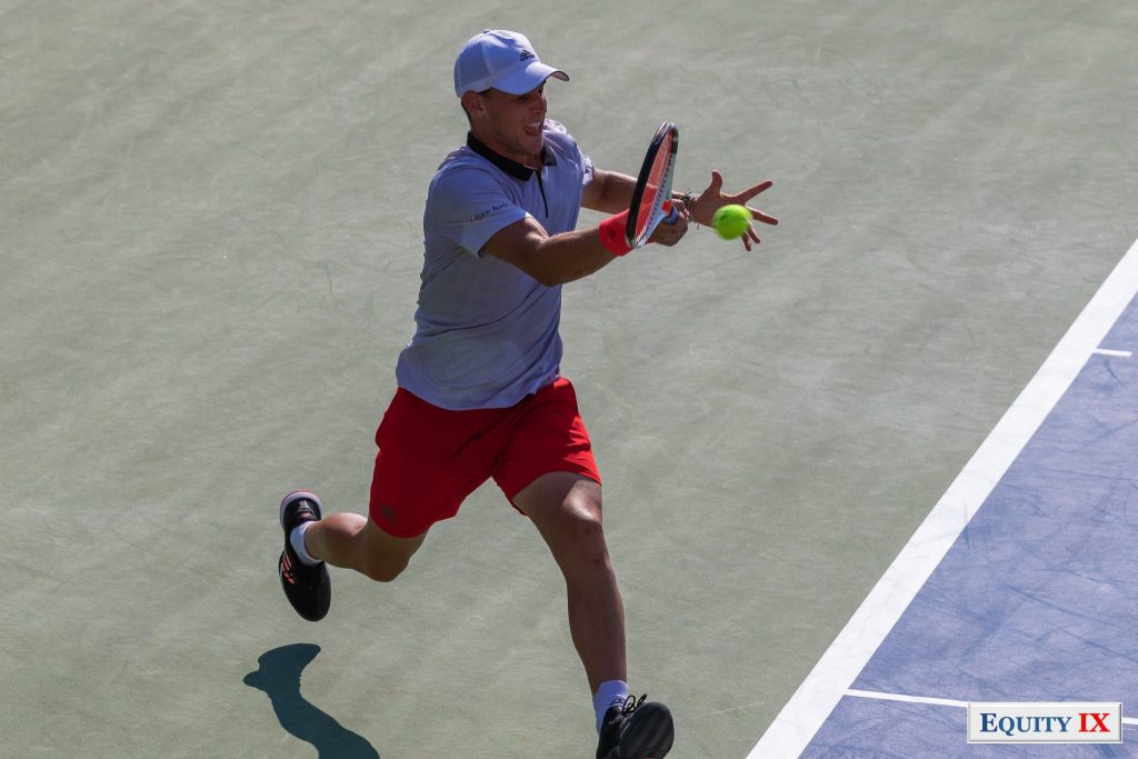2018 US Open - Dominc Thiem (Austria) © Equity IX - SportsOgram - Leigh Ernst Friestedt