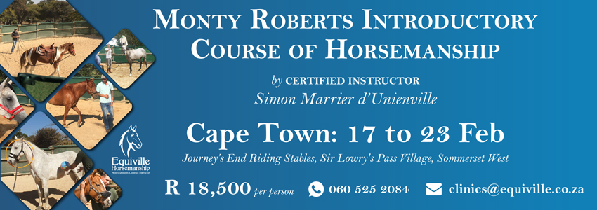 Monty Roberts Introductory Course of Horsemanship - Cape Town