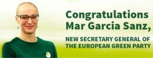 Mar García será la nueva Secretaria General del Partido Verde Europeo