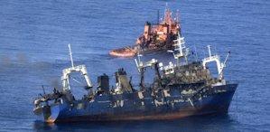 EQUO pide un plan de acción integral para evitar una catástrofe ecológica en la zona del hundimiento del pesquero ruso