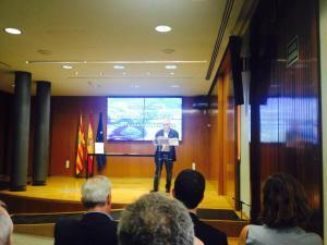 Firma del compromiso por una gestión pública y participativa del agua en Aragón