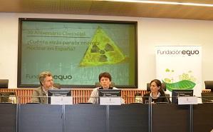 López de Uralde pide establecer un calendario de cierre nuclear en España