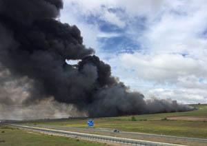 EQUO critica la desidia de las Administraciones y pide responsabilidades por el incendio de Seseña