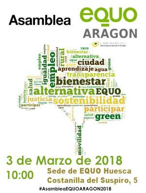 Asamblea ordinaria EQUO Aragón 2018