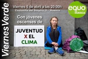 Viernes Verde – El movimiento Juventud por el Clima. 5 de abril a las 20:00h