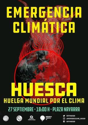 Semana de #HuelgaClimática en Huesca – del 20 al 27 de septiembre