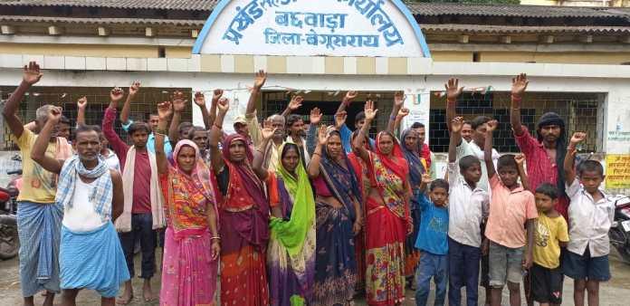 बछवाड़ा: सीओ का दावा हवा-हवाई, ग्रामीणों का चढ़ा पारा