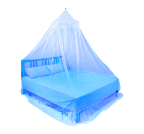 Pearl Bed Net Blue