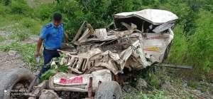 रामेछापमा बोलेरो जीप दुर्घटना ३ जनाको मृत्यु