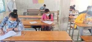 कक्षा १२ को परिक्षा आज देखि सुरू