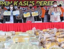 Polri Ungkap Penyelundupan 2,5 Ton Narkoba Jaringan Timur Tengah-Malaysia