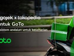 Merger Gojek dan Tokopedia Bentuk GoTo