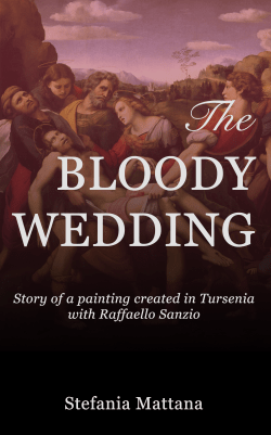 The Bloody Wedding cover, true crime story, historical fiction, medieval story, story set in italy
