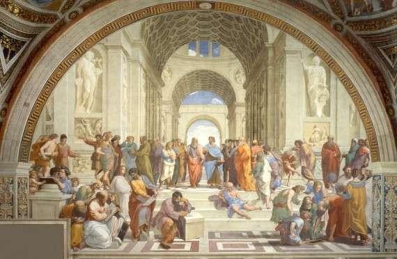 Η Σχολή των Αθηνών, ή Scuola di ΑΤΕΝΕ στην ιταλική γλώσσα, είναι ένα από τα πιο διάσημα έργα ζωγραφικής από τον Ιταλό καλλιτέχνη της Αναγέννησης, Ραφαήλ. Δημιουργήθηκε μεταξύ του 1510 και 1511, όταν ο διάσημος καλλιτέχνης προσλήφθηκε για να διακοσμήσει με τοιχογραφίες τα δωμάτια Ραφαήλ στο Αποστολικό Παλάτι του Βατικανό.