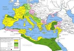 Η Ρωμαϊκή Αυτοκρατορία τα πρώτα χριστιανικά χρόνια