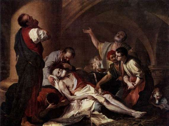 Giambettino Cignaroli - The Death of Socrates (18ος αιώνας)