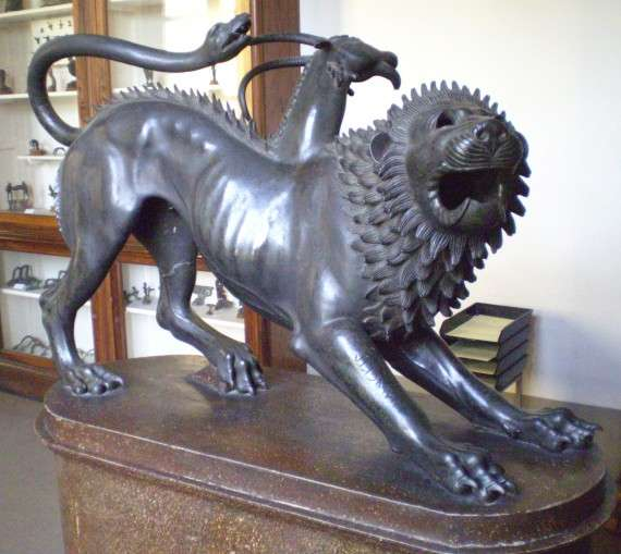 The Chimera of Arezzo, a prime example of Etruscan art
