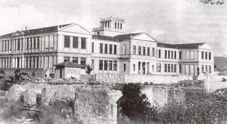 Η Ευαγγελική Σχολή Σμύρνης λίγο πριν την καταστροφή του 1922