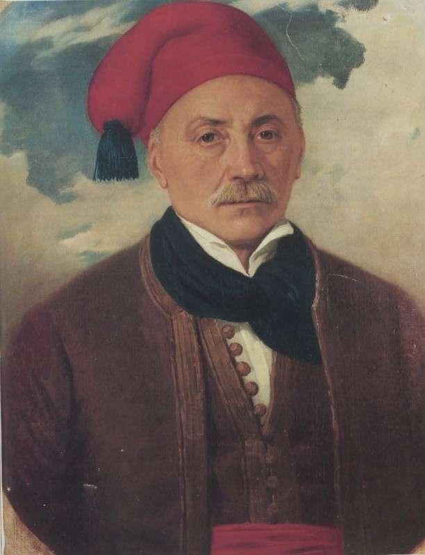 Ο Ιωάννης Ορλάνδος (Σπέτσες 1770 − Ύδρα 1852), μέλος της ελληνικής αποστολής στο Λονδίνο.