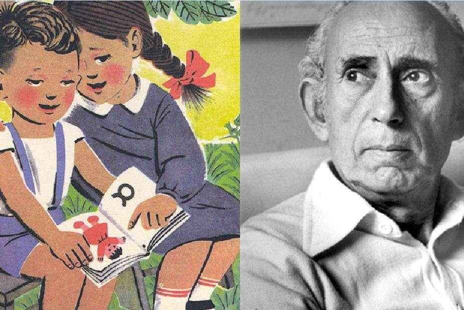 O καλλιτέχνης που ζωγράφιζε τα αλφαβητάρια της παιδικής μας ηλικίας.