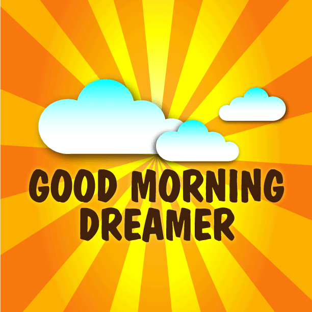Good Morning Dreamer - The weird and wonderful dreams of Eran Thomson