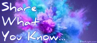 share what you know image eraoflightdotcom