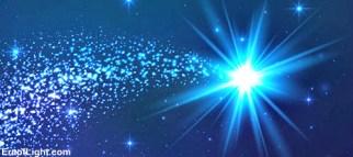 blue star of pleiades @ era of light dot com