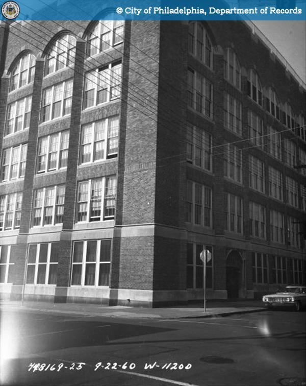 Contract #W-1120-D 13th Street - Buttonwood Street to Green Street: Helen Fleischer Vocational School.