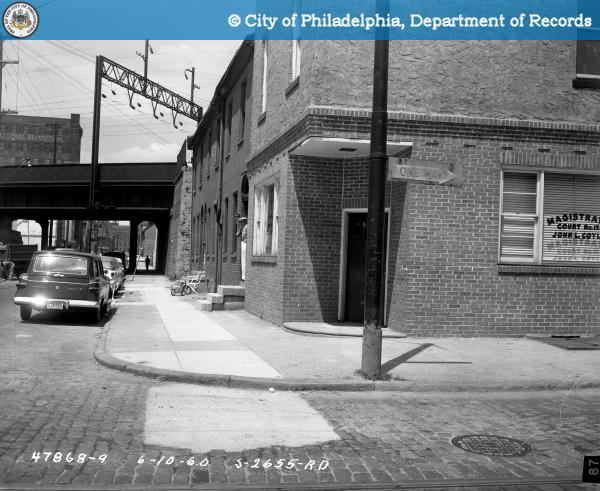 Contract S-2655-RD - 9th Street and Spring Garden to 10th Street and Buttonwood Street: Northwest Corner 9th Street and Buttonwood Street.