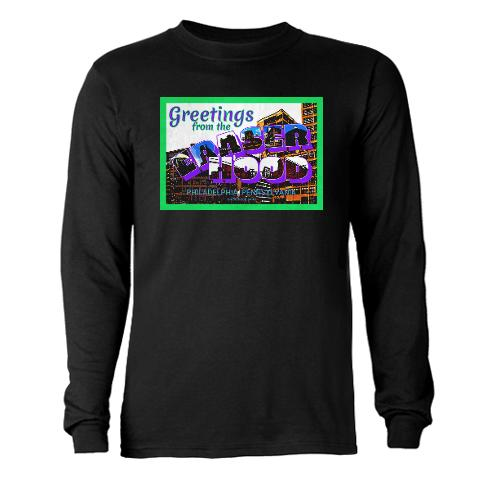 Greetings from the Eraserhood Long Sleeve T-Shirt > Greetings from the Eraserhood > Eraserhood