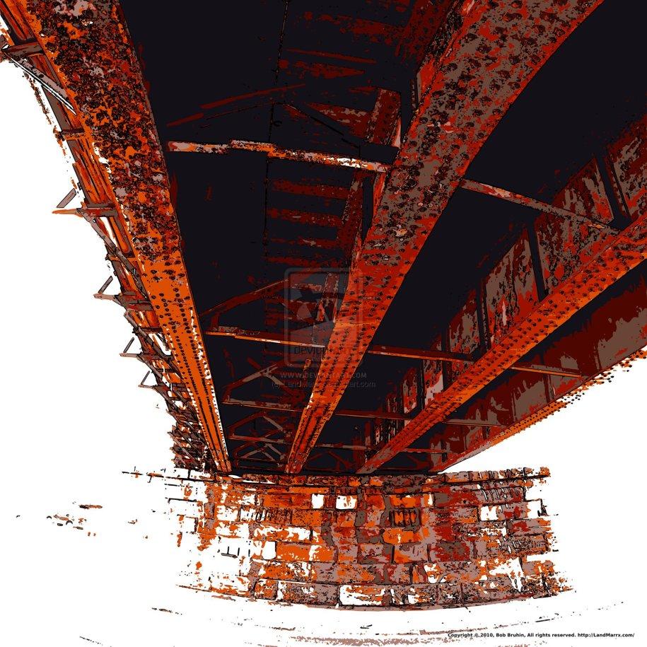Rusty Viaduct I by LandMarrx on deviantART