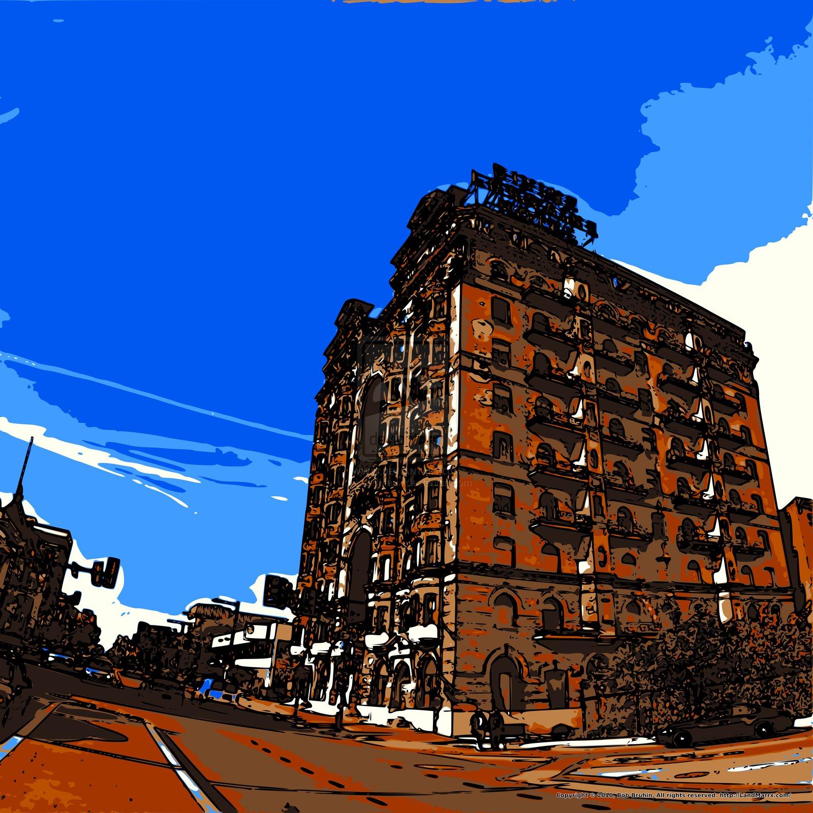 Sunset Hotel by LandMarrx on deviantART