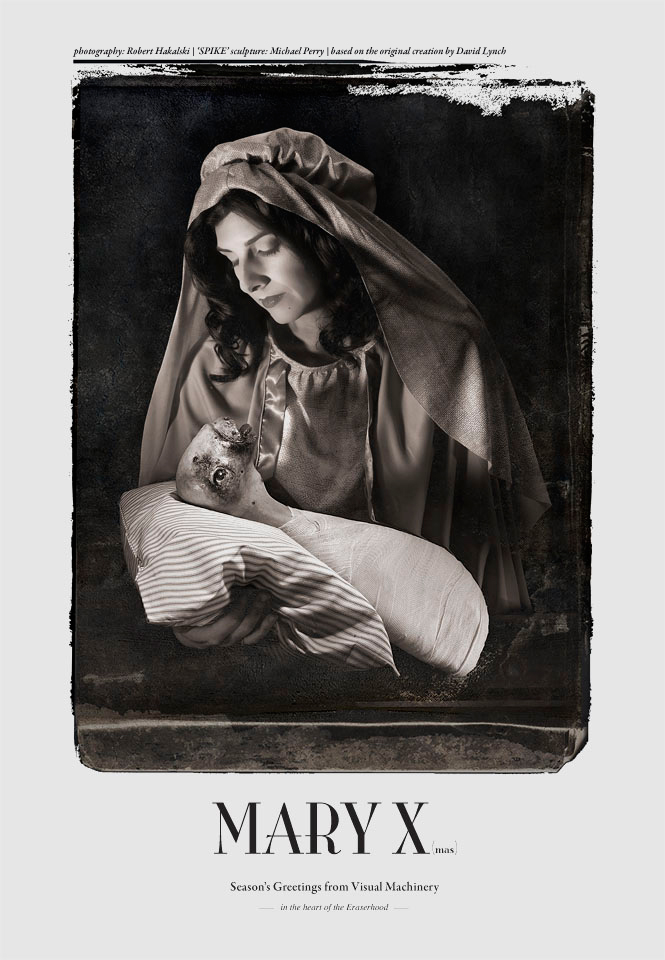 MARY X(mas) in the heart of the Eraserhood ...