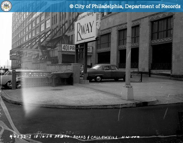 Bridge - Broad and Callowhill Streets - Northwest Corner.