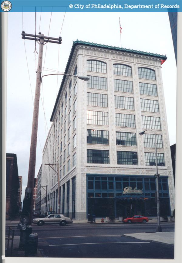 [Front View] Project:315 - 321 North Broad Street - Packard Motor Corporation Building.