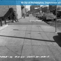 Cont. W-1001-D - Spring Garden Street-North Side - 13th Street to 12th Street