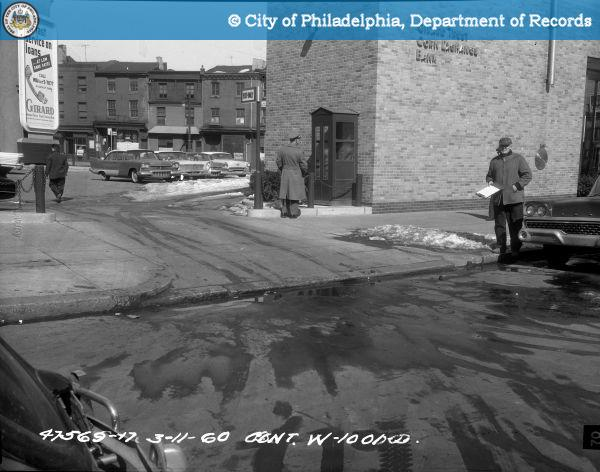 Cont. W-1001-D - Spring Garden Street-North Side - 13th Street to 12th Street: Sidewalk 1213 Spring Garden Street North.