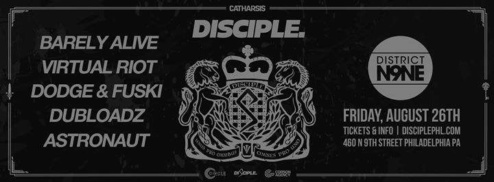 Disciple Take Over Tour - Tickets - District N9NE - Philadelphia PA August 26 2016 Ticketfly