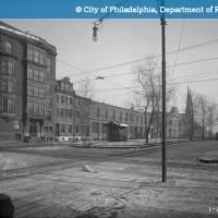 13th and Spring Garden Streets-Looking East