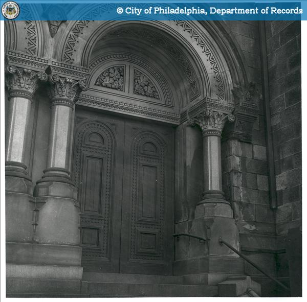 714 North Broad Street [Church Door] Project:708 - 714 North Broad Street - Our Lady of the Blessed Sacrament.