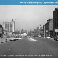 General View - Vine Street Widening-West from 8th