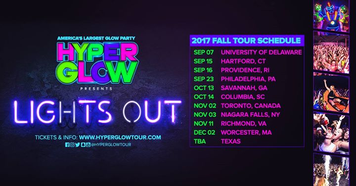 Hyperglow, Philadelphia PA! - America's Largest Glow Party!