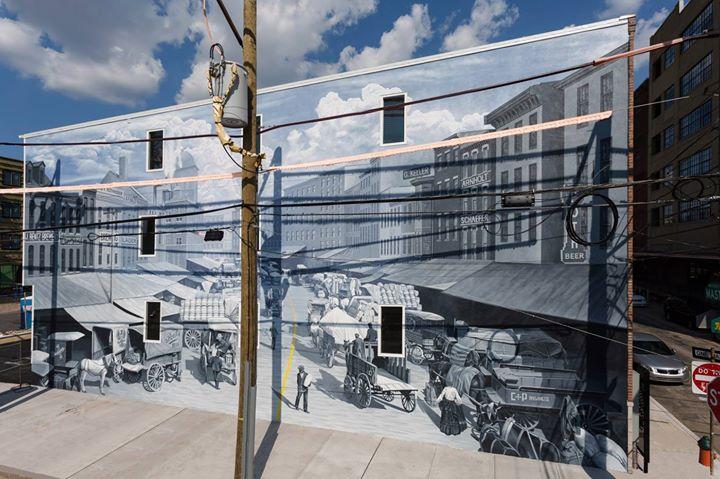 Mural Dedication: Industrious Light, Brewerytown