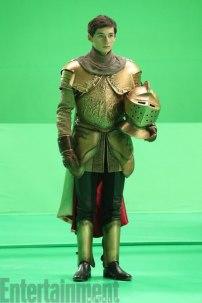 Henry reciclando la armadura de su abuelo Rumple