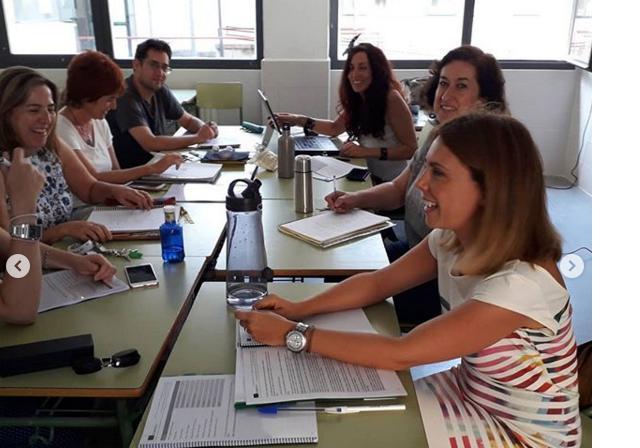 Reuniones de coordinación de los proyectos escolares KA229