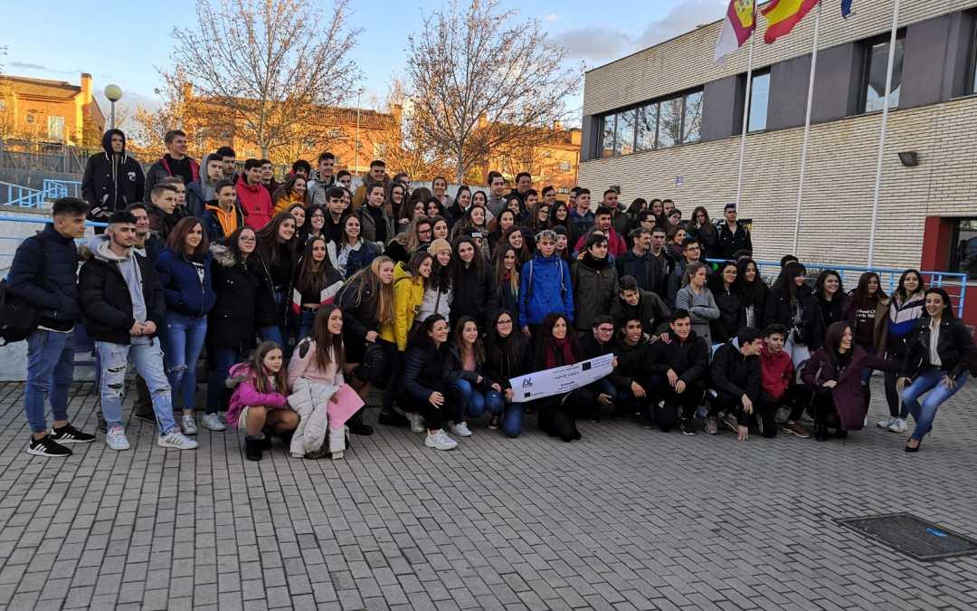 Entusiasmo en la bienvenida del Primer Encuentro Transnacional de P2EU
