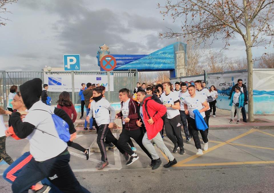 Carrera Solidaria Erasmus+ organizada por el alumnado de Passport to Europe