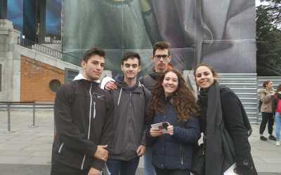 El alumnado de Passport to Europe despliega sus últimas actividades relacionadas con el Patrimonio Cultural