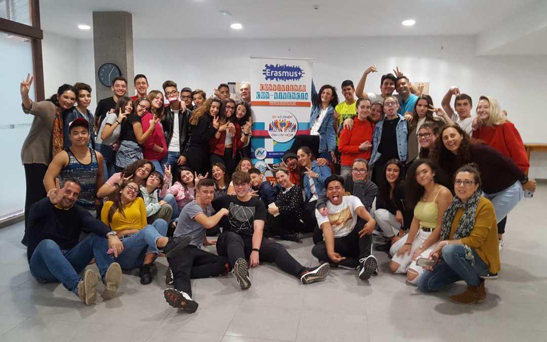Se despiden con lágrimas los participantes en el proyecto KA229 Conviviendo CON-VIVENCIA tras su Segunda Reunión Transnacional en Canarias