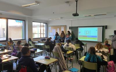 Charla-Taller Buen Uso de los Grupos de clase De Whatsapp +  Proyecto Erasmus+ KA229 Conviviendo Con-Vivencia.